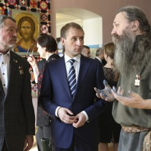 А. Тихомиров, А,.Козлов-губернатор, А.Буянов