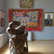 Академическая выставка -70-лет Победы