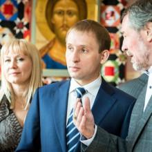 губернатор Амурской области с супругами Тихомировыми
