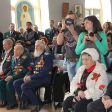 открытие академической выставки 70 лет великой Победы